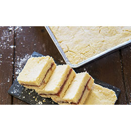 Sugar & Spice - Strawberry Shortbread - 1xtray