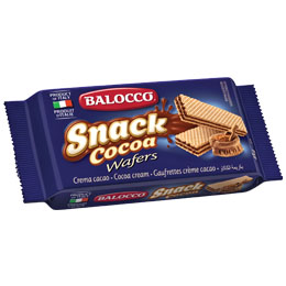 Balocco Wafers - Chocolate (Cacao) - 30x45g
