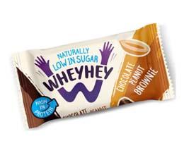 Wheyhey Brownie - Chocolate Peanut - 15x40g