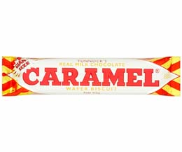 Tunnocks - Giant Milk Chocolate Caramel Wafer - 36x37G