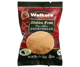 Walkers - Gluten Free Shortbread Rounds - 60x30g