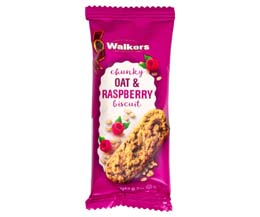 Walkers - Chunky Oat & Raspberry Biscuit - 60x20g