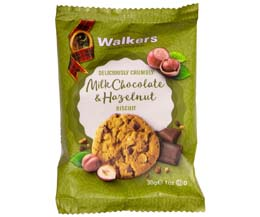 Walkers - Milk Chocolate & Hazelnut Biscuit - 60x30g