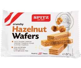 Spitz Vienna Hazelnut Wafers - 18x60g