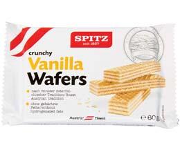 Spitz Vienna Vanilla Wafers - 18x60g