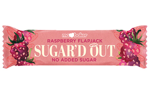 Ma Baker - Sugar'D Out Flapjack - Raspberry - 16x50g