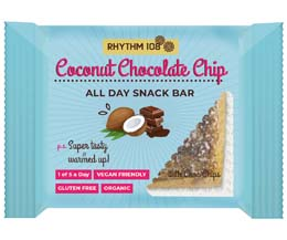 Rhythm 108 - Coconut Macaroon All Day Snack Bar - 12x40g
