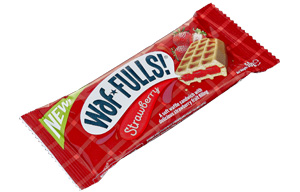 Waffulls - Strawberry - 12x50g