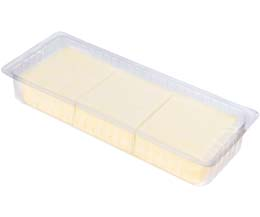 Mozzarella Slices (50x20g) - 1x1kg