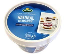 Arla - Reduced Fat Soft Cream Cheese (17%) - 1x1.5kg