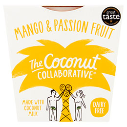 Coconut Collaborative-Mango & Passion Fruit Dairy Free Yoghurt-6x120g