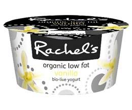 Rachels - Organic Luscious Vanilla Yoghurt - 6x150g