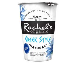 Rachels - Organic Greek Style Yoghurt - 6x450g