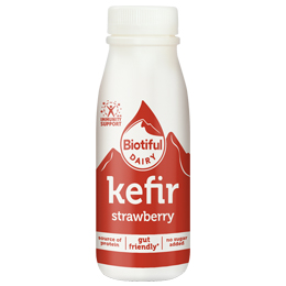 Biotiful - Kefir Strawberry - 6x250ml