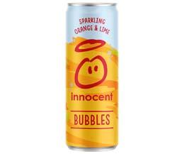 Innocent Bubbles - Cans - Orange & Lime - 12x330ml