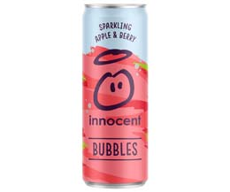 Innocent Bubbles - Cans - Apple & Berry - 12x330ml