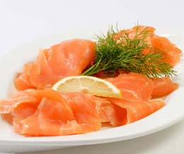 Smoked Salmon Slices - 1x454G