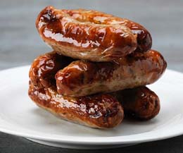 Whole Lincolnshire Sausages - 1x1kg