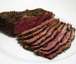 Sliced Peppered Pastrami - 1x500g