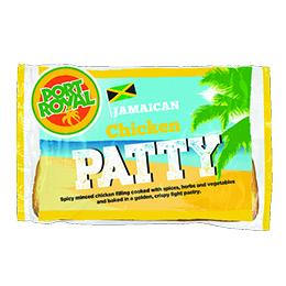 Jamaican - Chicken Pattie - 8x140g