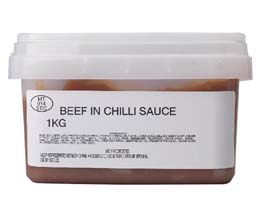 Sandwich Filler - Beef In Chilli Sauce - 1x1kg