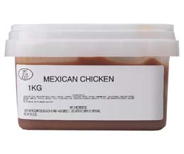 Sandwich Filler - Marinated Mexican Chicken - 1x1kg