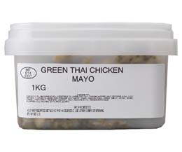 Sandwich Filler Mayo - Thai Green Chicken - 1x1kg