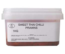 Sandwich Filler - Sweet Thai Chilli Prawns - 1x1kg