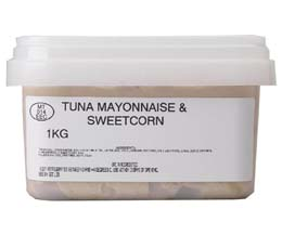 Sandwich Filler - Tuna Mayo & Sweetcorn - 1x1kg