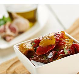 Vegs Marinated Pepperoni Grigliate - Peppers - 1x1kg