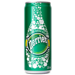 Perrier Mineral Water - Spk - Slim Can - 35x250ml
