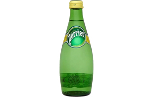 Perrier Mineral Water - Glass - 24x330ml