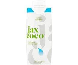 Jax Coco 100% Pure Coconut Water - 12x330ml
