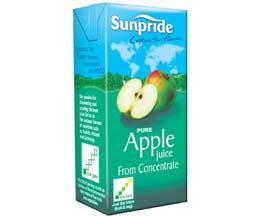Sunpride Juices - 100% Apple - 24x200ml