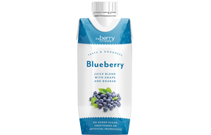 Berry Juice - No Added Sugar - Blueberry Grape & Baobab - 12x330ml