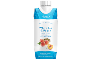 Berry Juice Co - White Tea & Peach - 12x330ml