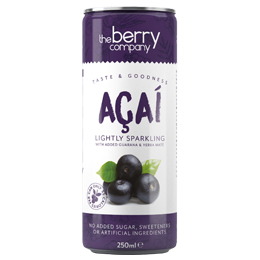 Berry Juice Co - Can - Sparkling Acai - 12x250ml
