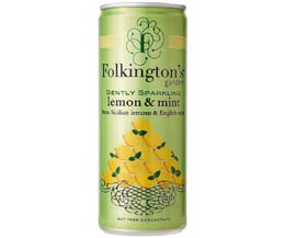 Folkingtons Cans - Lemon & Mint - 12x250ml