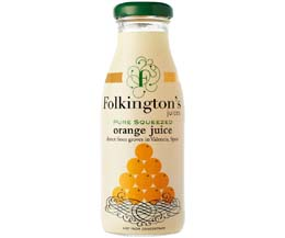 Folkingtons - Orange - 12x250ml Glass
