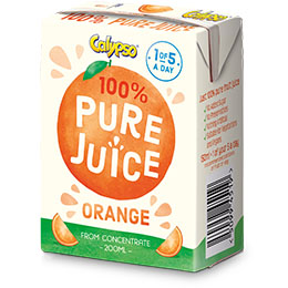 Calypso - Pure Orange Juice - 27x200ml