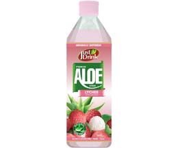Just Drnk - Aloe Drink - Lychee - 12x500ml