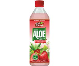 Just Drnk - Aloe Drink - Strawberry - 12x500ml