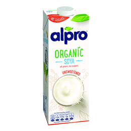 Alpro - Sugar Free Organic Soya Drink - 1x1L