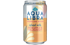 Aqua Libra Can - Pineapple & Grapefruit - 24x330ml