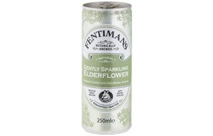 Fentimans Cans - Gently Sparkling Elderflower - 12x250ml