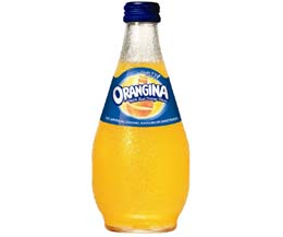 Orangina - Bulby Crown Top Glass - 12x250ml