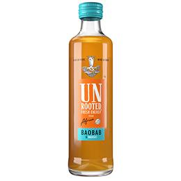 Unrooted Fresh Energy Drink - Baobab & Mango - 12x245ml