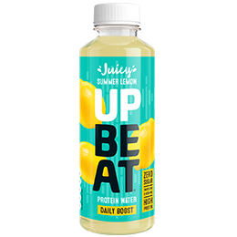 Upbeat Protein Water - PET - Still Summer Lemon - 12x500ml