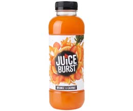 Juice Burst - Orange & Carrot - 12x500ml