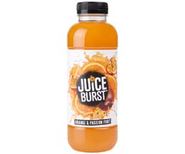 Juice Burst - Orange & Passion Fruit - 12x500ml
